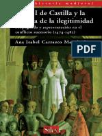 Isabel I de Castilla y la sombra de la ilegitimidad-Ana Isabel Carrasco Manchado