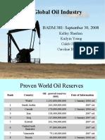 British petroleum 381 Oil Presentation
