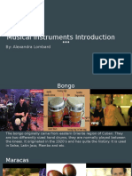 musical instruments introduction