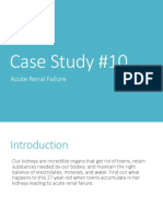 Case Study 10 Renal Failure