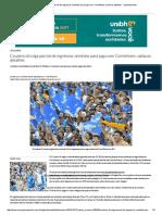 Cruzeiro Divulga Parcial de Ingressos Vendidos Para Jogo Com Corinthians; Saiba Os Detalhes - Superesportes