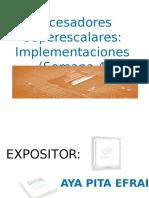Procesadores Superescalares Final.ppt