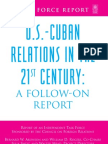 CFR - Cuba TaskForce