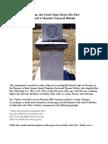 Calm, the Good Man Meets His Fate (& a Masonic Funeral Ritual)