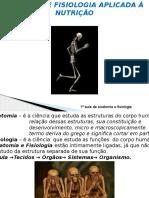 1ª Aula Anatomia - Sistema Esquelético