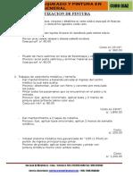 Presupuesto de Pintura Solidaridad Huaycan