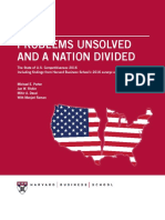 Problems Unsolved and a Nation Divided - Harvard Business School