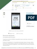 COMPRA en Walmart Smartphone M4 Soul SS4350 8 GB Blanco 3G Telcel R