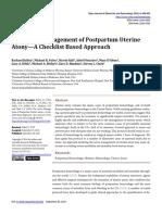 The Active Management of Postpartum Uterine - OJOG_2016092815312813
