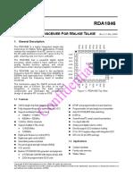 RDA1846 Datasheet v1.2e