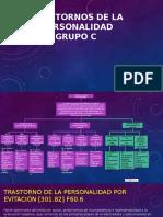 Psicopatologia Cluster C dsmv