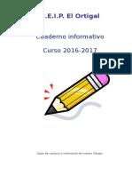 Cuadernillo Informativo 2016-2017