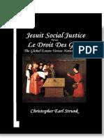 Jesuit Social Justice versus  Le Droit Des Gens