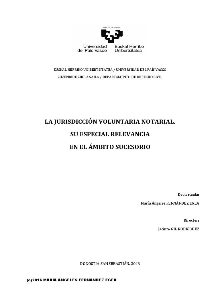 Tesis Fernandez Egea Maria Angeles Juridiccion Voluntaria