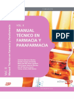 Manual Tecnico de Farmacia y Parafarmacia. Vol. II