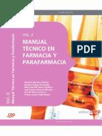 Manual Tecnico de Farmacia y Parafarmacia. Vol. II