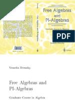 Free Algebras and PI-Algebras - Drensky