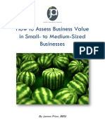 How to Assess Value of Business