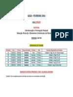 Plano de Estudos - EPM I