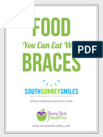 Healthy Recipes For People With Braces