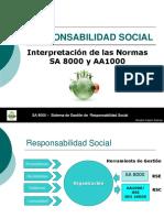4. Responsabilidad Social Sa 8000-Aa1000-Iso 26000