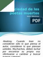 La Sociedad de Los Poetas Muertos Ok
