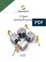 Geometric Annual Report 2010