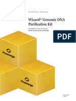 WizardR Genomic DNA Purification Kit Complete Protocol