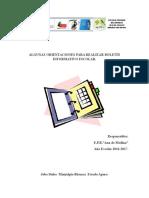 Algunas Orientaciones Para Realizar Boletin Informativo Escolar.