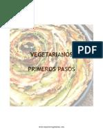 vegetarianos, primeros pasos