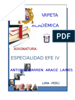 Carpeta Eefef IV