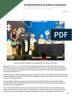 14/10/16 Trabaja el Estado en la implementación de políticas incluyentes-opinionsonora.com