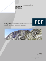 N1. Geologia Estructural e Interpretacion Tectonica Con Faultkin y Stereonet