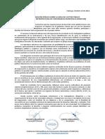 Declaración Pública FEMEFUM - Mesa del Sector Público