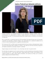 13-10-16 Emite CNDH Recomendación a Pavlovich por detención arbitraria. - La Jornada
