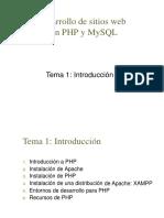 PHP - Introducción