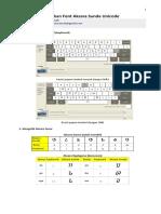 Petunjuk Penggunaan Font Sunda Unicode