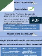Philipe Panerai - Analise Urbana - Capitulo sobre crescimento das cidade resumo