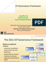 The 2011 ICP Governance Framework
