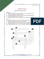 Semantica - Relacoes Semanticas Entre Palavras - Palav.cruzadas (Blog10 13-14)