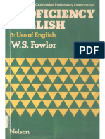 1fowler w s Proficiency English 3 Use of English