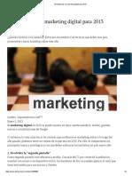 10 Tendencias en Marketing Digital Para 2013