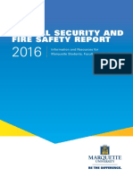Annual Security & Fire Safety Report 2016 Fnl