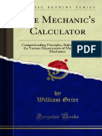The Mechanics Calculator