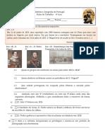 Historia e Geografia de Portugal 6ºano