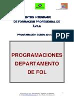 Fol Programación Cifp Ávila 12-13