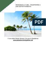 Ottenere la Residenza a Cuba