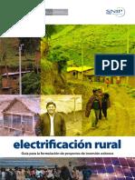 Guia Practica de Proyectos de Electrificacion Rural