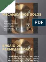 Mecânica Dos Solos