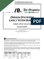 KGW-Oregonian Poll 2016